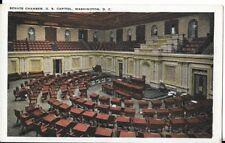 senate chambers us capitol postcard