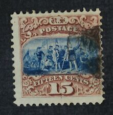 CKStamps: US Stamps Collection Scott#118 15c Pictorial Used CV$800