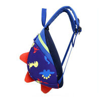 Unsex Cute Toddler Kids Baby Mini Backpack Cartoon Dinosaur School Bag Rein US