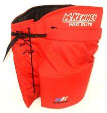 Mckenney Pro Elite Red Padded Adult Ice Hockey Pants - Size: Senior 160