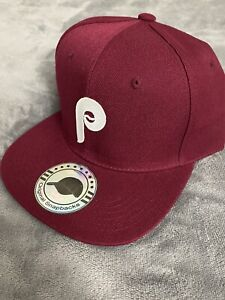 Philadelphia Phillies MLB Vintage Throwback Logo Snapback Baseball Hat Cap NEW