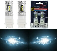 LED Light 80W 3156 White 6000K Two Bulbs Back Up Reverse Replacement Upgrade OE