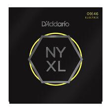D'Addario NYXL Electric Guitar Strings gauges 9-46