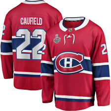 BRAND NEW! NHL Montreal Canadiens 2021 Stanley Cup Finals Red Breakaway Jersey