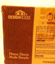 DESIGN HOUSE - Chrome 2 Light Ceiling Fixture - NEW