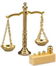 Dollhouse Brass Scale w Weights Reutter 1.636/5 Miniature