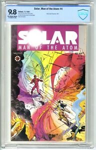 SOLAR, MAN of The ATOM #4 (11/1991) CBCS 9.8 NM/MT OW/W Pgs VALIANT NOT CGC BWS