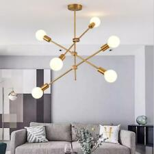 New ListingModern Gold 3 Arms 6-Light Chandeliers Pendant Lamps Ceiling Fixtures Lighting