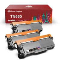 3 High Yield Black Toner Cartridge TN660 HL-L2300D For Brother DCP-L2540DW TN630