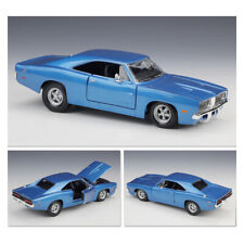 1:24 Scale Maisto Dodge Charger R/T 1969 Blue Alloy Metal Model Car Toys&Hobbies