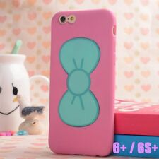iPhone 6+ / 6S+ Plus - HARD TPU RUBBER SKIN CASE COVER HELLO KITTY KICKSTAND BOW