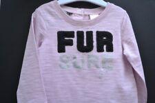 Guess designer baby girl winter long sleeve top BNWT t-shirt Sz 18 mth 1-2 yr