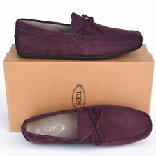 TOD'S Tods New sz UK 10.5 - US 11.5 Auth Designer Mens Drivers Loafers Shoes
