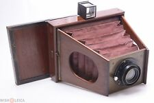 NICE*  MENDEL? FRENCH SIDE, GATE STRUT, CHAMBRE A JOUES 13X18CM CAMERA W/ FINDER