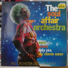 THE SOUL AFFAIR ORCHESTRA BIG ORCHESTRA DISCO SOUND ! SEXY AFRO COVER  LP ABA
