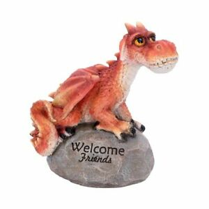 Welcome Friends 19.5cm Dragon Figurine Medium Collect Home Dragons Cute