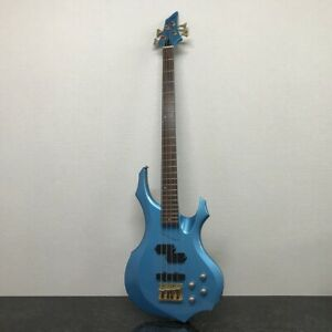 GRASS ROOTS by ESP Forest Electric Bass Guitar Blue Metallic