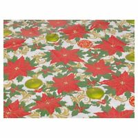 Disposable Christmas Tablecloth Festive Rectangle Table Cloth Tableware Oblong