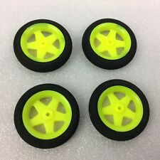 4 x Super Light Multi Spoke Wheels - RC Plane - 46 x 9 mm - centre hole 2mm - L