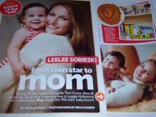 Leelee Sobieski 35 pc German Clippings Collection