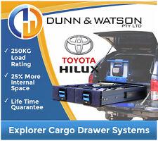 MSA Explorer Cargo Drawer Systems - Toyota Hilux - Heavy Duty