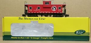 S-Helper 01268 Great Northern Extended Vision Caboose #103 S-Gauge/Scale NIB