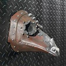 Steampunk Goth Beak Headpiece Plague Mask Black Death Wall Sculpture