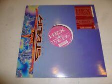 "HEX Feat CHARLY K - Crazy - UK 3-track 12 "" Vinyl Single - DJ Promo"