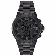 Citizen Eco-Drive Men's CA0295-58E Nighthawk Chronograph Black 43mm Watch