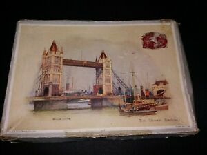 PHILMAR The Tower Bridge Wooden Jigsaw Puzzle Made In England