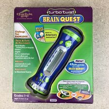 LeapFrog Turbo Twist Brain Quest Handheld Electronic Educational Game #80035