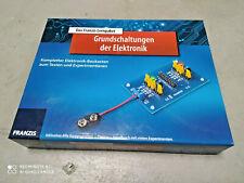Franzis Lernpaket Grundschaltungen der Elektronik Elektrobaukasten
