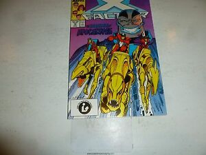X-FACTOR Comic - Vol 1 - No 19 - Date 08/1987 - Marvel Comic (NBC)