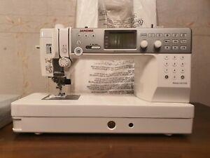 BRAND NEW Janome Memory Craft 6700P Computerized Sewing Machine