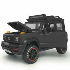 1:18 Suzuki Jimny SUV 2018 Model Car Diecast Toy Vehicle Sound Black Kids Gift