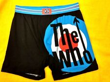 The-Who-Rock-Band-Boxer-S horts-Underwear-Men-Sz/M10 0% Cotton New #332