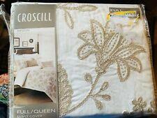 "Croscill King Duvet Cover No Shams Devon Natural 92x96"""