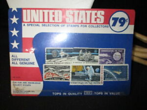 JD - 1957-58 UNITED STATES STAMPS US MAN IN SPACE PACKAGE HIRSCHHORN NY