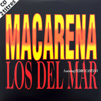 Los Del Mar Featuring Pedro Castano CD Single Macarena - France (EX+/EX+)