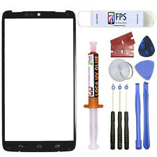 For Motorola Droid Turbo XT1254 Screen Glass Lens Replacement + Loca UV GLUE
