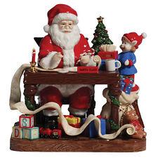 Royal Doulton Santa Makes His List - Christmas Figurine HN 5468 NEW in box