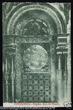 937.-COVADONGA -Tríptico. Arco de Triunfo