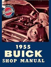 1955 Buick Shop Service Repair Manual Book Engine Drivetrain Electrical Guide OE