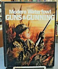 Modern Waterfowl Guns & Gunning Hardcover Firearms History Refernce Don Zutz