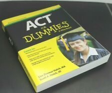 ACT FOR DUMMIES  [Paperback]  ^ NEW ^