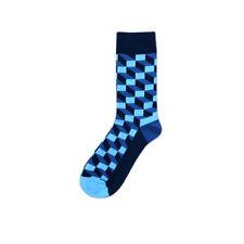 Fashion Mens Womens Argyle Pattern Dress Socks Casual Multi Color Plaid Socks