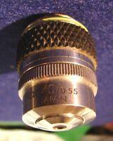Olympus Lwd C PLAN 40 Microscope Objective 40x 0.55 NA 0.70-1.3 wd #401668
