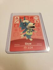 Skye Sky # 272 Animal Crossing Amiibo Card Series 3 MINT NEVER SCANNED!