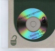 (DF418) Holy Ghost Revival, Bleeding Light - DJ CD