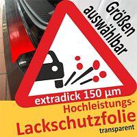 Auto Lackschutzfolie transparent Folie Steinschlagschutz selbstklebend 100x30